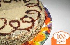 """Фото рецепта: «Торт """"Капучино""""»"""
