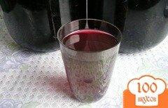 Фото рецепта: «Простая настойка из черноплодной рябины»