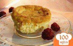 Фото рецепта: «Творожный десерт с малиной»