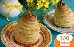Фото рецепта: «Ароматные груши в творожном тесте»