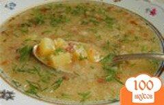 Фото рецепта: «Суп овощной с ячневой крупой»