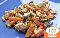 Фото рецепта: «Баклажаны с курицей»