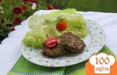Фото рецепта: «Оладушки с грибами и курицей»