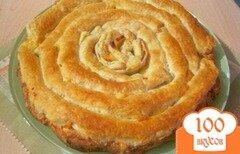 Фото рецепта: «Слоёный пирог с сыром»
