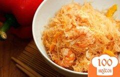 Фото рецепта: «Фунчоза с креветками»