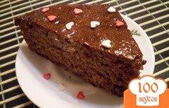 Фото рецепта: «Пирог из айвового варенья»