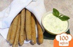 Фото рецепта: «Ароматные хлебные палочки»