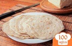 Фото рецепта: «Тортилья пшеничная»