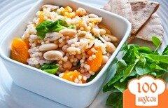 Фото рецепта: «Салат из кускуса с мандаринами»
