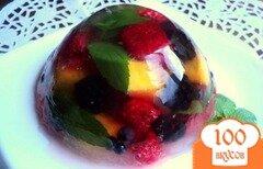 Фото рецепта: «Фруктово-ягодное желе»