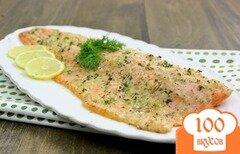 Фото рецепта: «Филе красной рыбы в духовке»