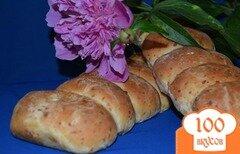 Фото рецепта: «Сырный хлеб с творожной начинкой»