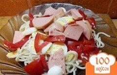 Фото рецепта: «Королевские спагетти»