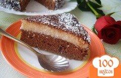 """Фото рецепта: «Торт """"Баунти""""»"""
