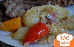 Фото рецепта: «Картофель в фольге»