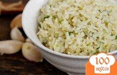 Фото рецепта: «Рис с чесноком»