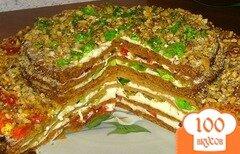Фото рецепта: «Медовый торт с желе»
