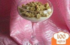 Фото рецепта: «Ванильный десерт с бисквитом»