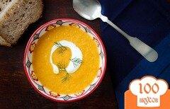 Фото рецепта: «Морковный суп-пюре с фенхелем»