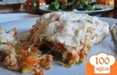 Фото рецепта: «Лазанья с курицей и сыром»