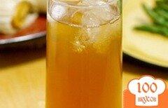 Фото рецепта: «Холодный чай с лимоном»