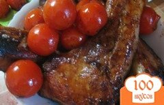 Фото рецепта: «Свинина с помидорами»