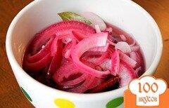 Фото рецепта: «Маринованный лук»
