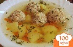 Фото рецепта: «Гречаники в курином бульоне»