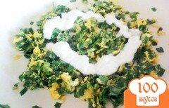 Фото рецепта: «Яичница с джусаем»
