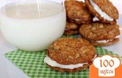 Фото рецепта: «Морковные печенье-сэндвичи»