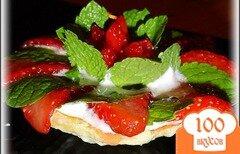 Фото рецепта: «Тарталетки «Клубнично - клюквенное блаженство»»