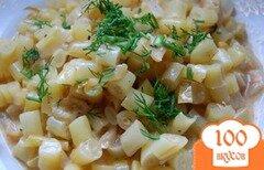 Фото рецепта: «Спаржевая фасоль в сливочно-томатном соусе»