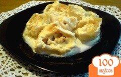 Фото рецепта: «Лумакони с фаршем, кабачками и помидорами»