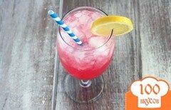 Фото рецепта: «Розовый лимонад»