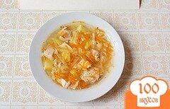 Фото рецепта: «Диетические щи с сельдереем и свежей капустой»