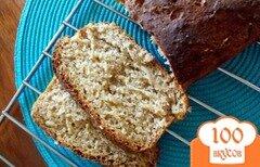 Фото рецепта: «Сладкий овсяный хлеб»