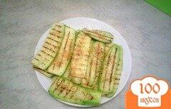 Фото рецепта: «Жареные на гриле кабачки»