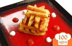 Фото рецепта: «Картофель фри на сковороде»
