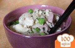 Фото рецепта: «Жареный рис по-китайски»