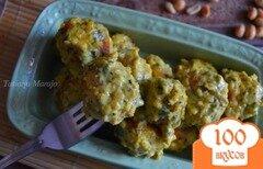 Фото рецепта: «Рыбные шарики в сливочно-арахисовом соусе карри»