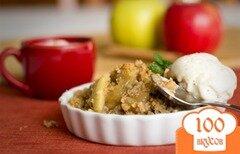 Фото рецепта: «Кисло-сладкие, запеченные яблоки»