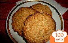 Фото рецепта: «Хрустящее овсяное печенье»