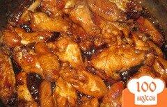 Фото рецепта: «Куриные крылья в Восхитительном соусе»