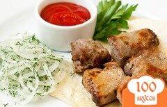 Фото рецепта: «Шашлык из свинины в аэрогриле»