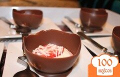 Фото рецепта: «Шоколадные корзинки»