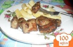 Фото рецепта: «Жаренная говяжья печень»
