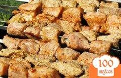 Фото рецепта: «Шашлык из свинины в уксусе»