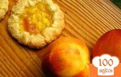 Фото рецепта: «Персиковое печенье»