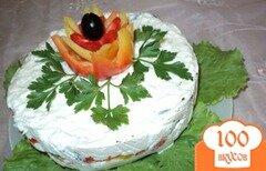 Фото рецепта: «Чиз-кейк «Пикантный»»