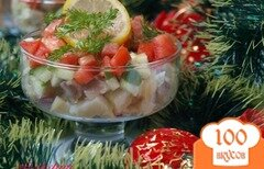 Фото рецепта: «Сельдь с овощами в горчичном соусе»